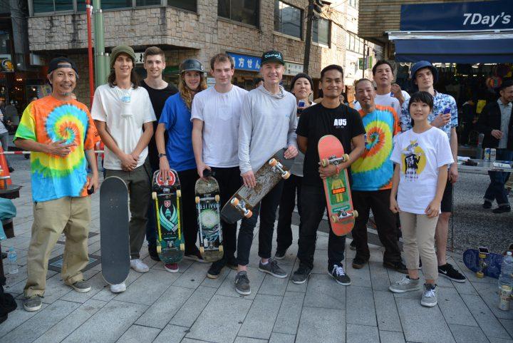 世界のフリースタイルスケーターが集まりました